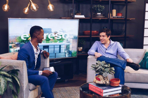 Bryan Smith discusses SpaceX's BFR rocket system on SABC 3's Expresso Show